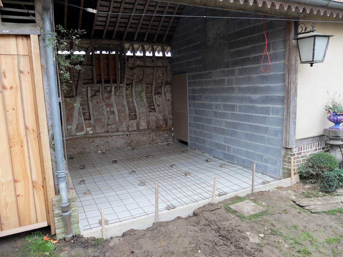 Atelier en Picardie-travaux phase 1.