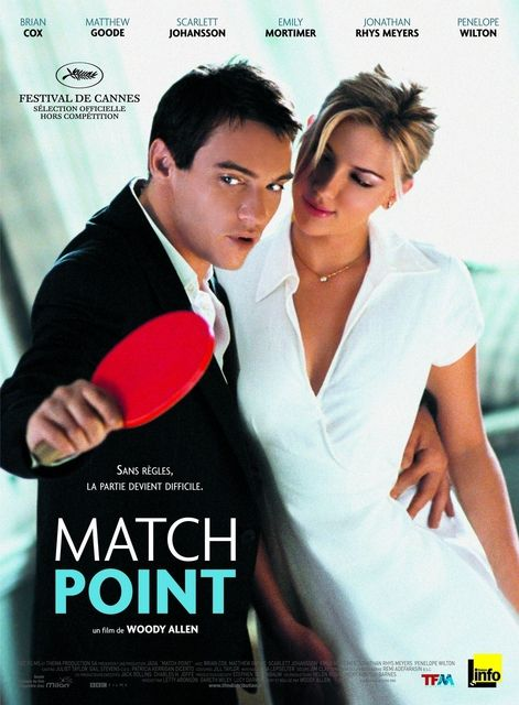 Match Point, un film acceptable.