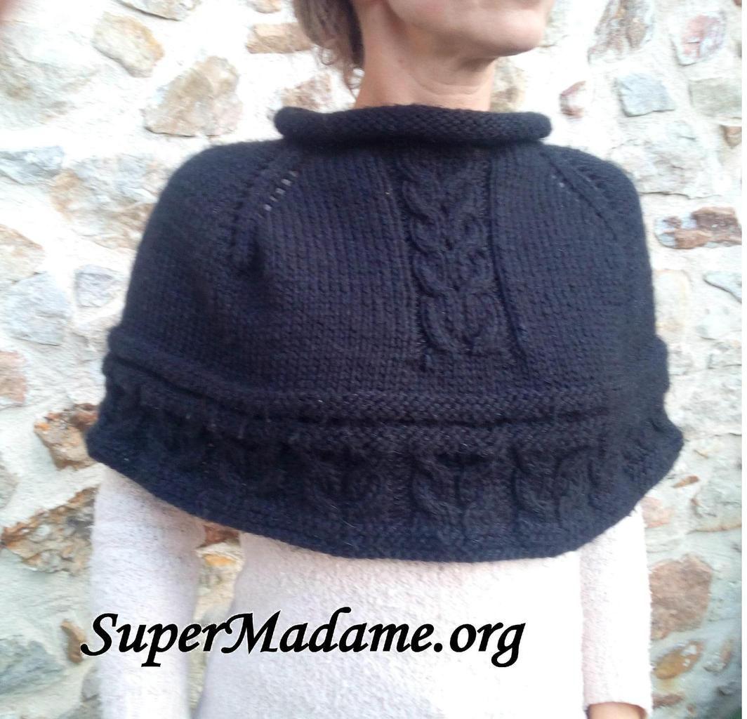 modele tricot chauffe epaule gratuit