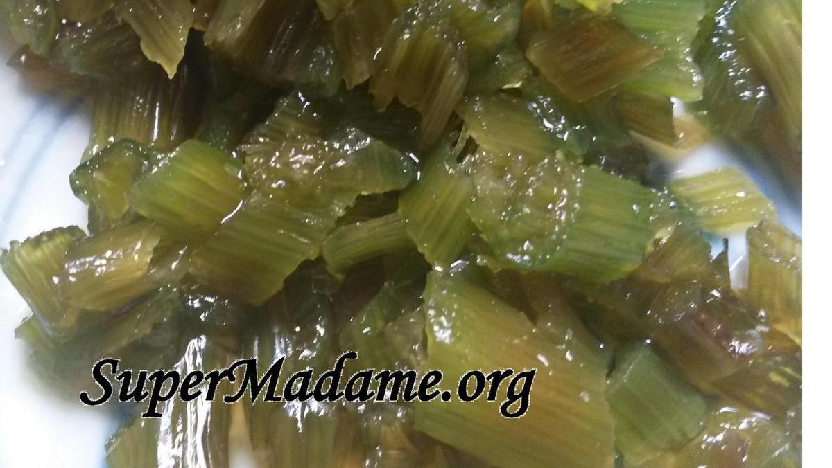 Cuisiner facilement l'angélique confite (recette rapide et facile)