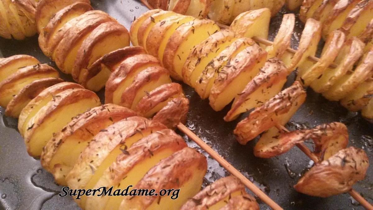 Recette spectaculaire avec des pommes de terre (tornado potatoes)