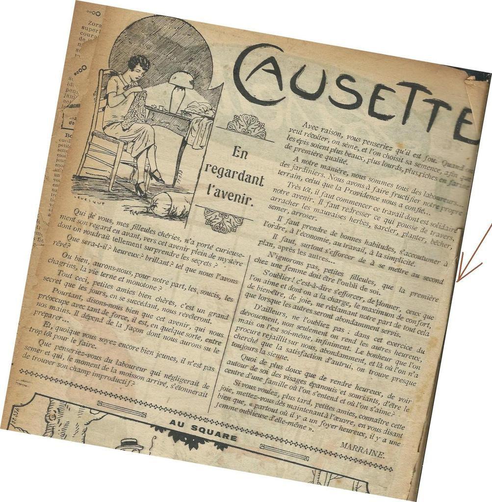 """Lisette, """"le journal des petites filles"""", 1927"""