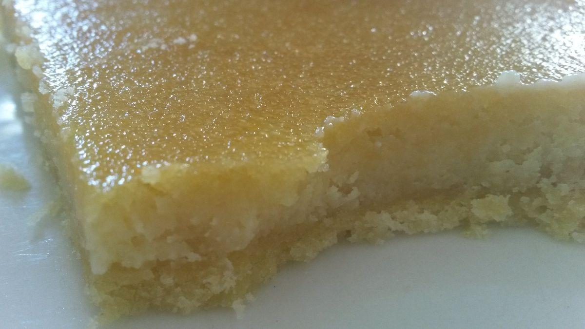 Tarte citron amande pas chère au lemon curd