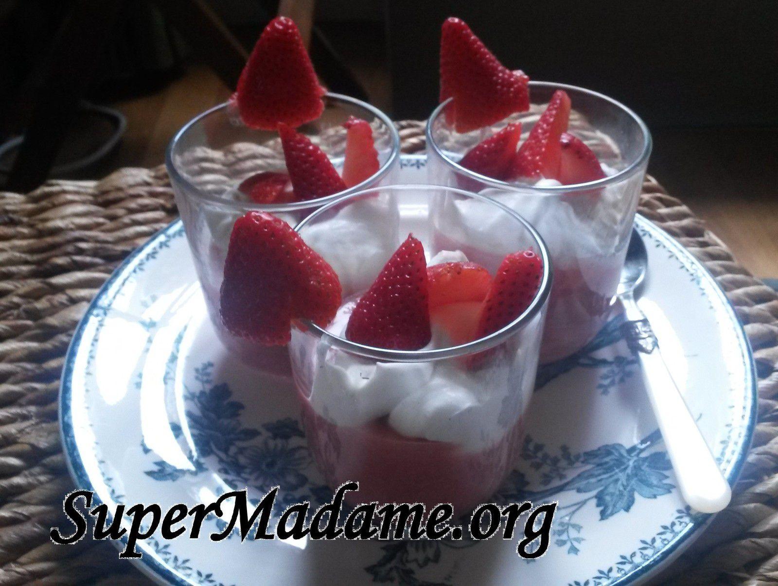 Idée dessert pour utiliser un reste de fraises abîmées