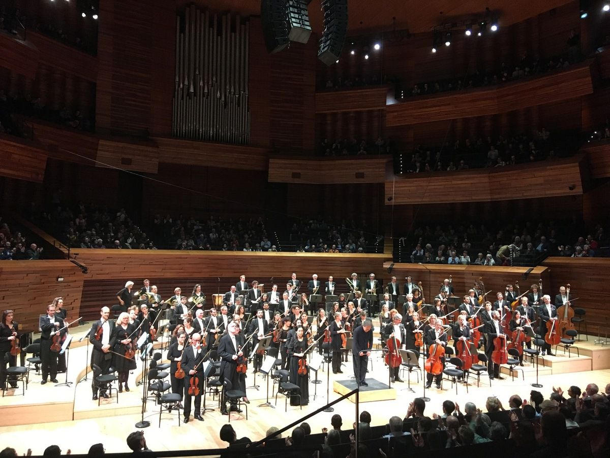 Orchestre Philharmonique de Radio France à l'issue du concert du 12 avril 2019