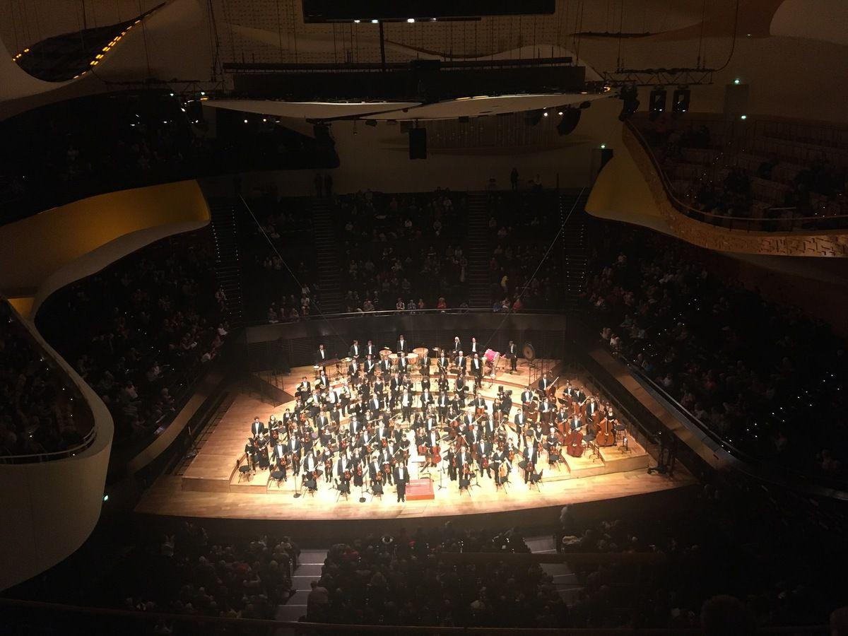L'ONCT à la Philharmonie de Paris le lundi 9 décembre 2019