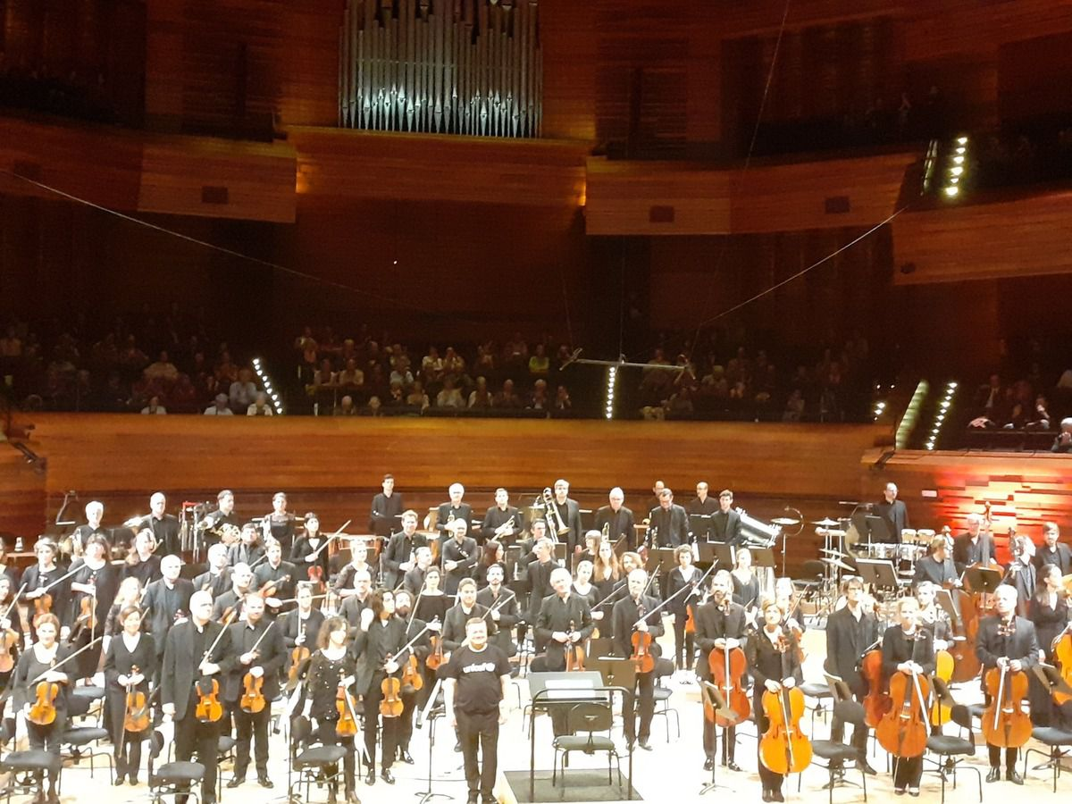Orchestre Philharmonique de Radio France et Mikko Franc le 21 décembre 2019 à l'auditorium de Radio France