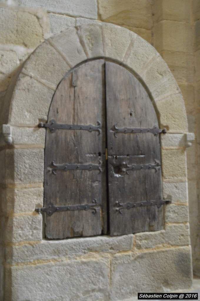 La crèche de l'annonciation à l'Eglise abbatiale d'Aubazine, le 24 décembre 2016