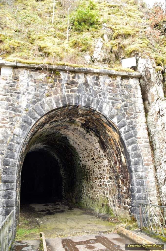 Viaduc des rochers noirs entre Lapleau et Soursac en Corrèze