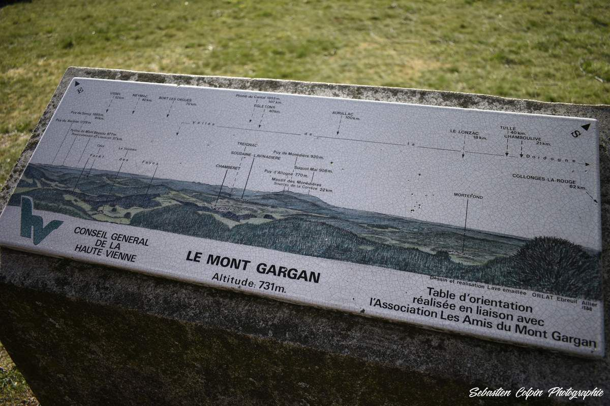 Le Mont Gargan en Haute-Vienne, site naturel classé