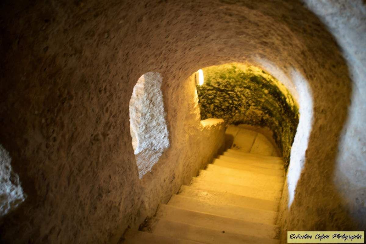 Aubeterre sur Dronne et son Eglise souterraine