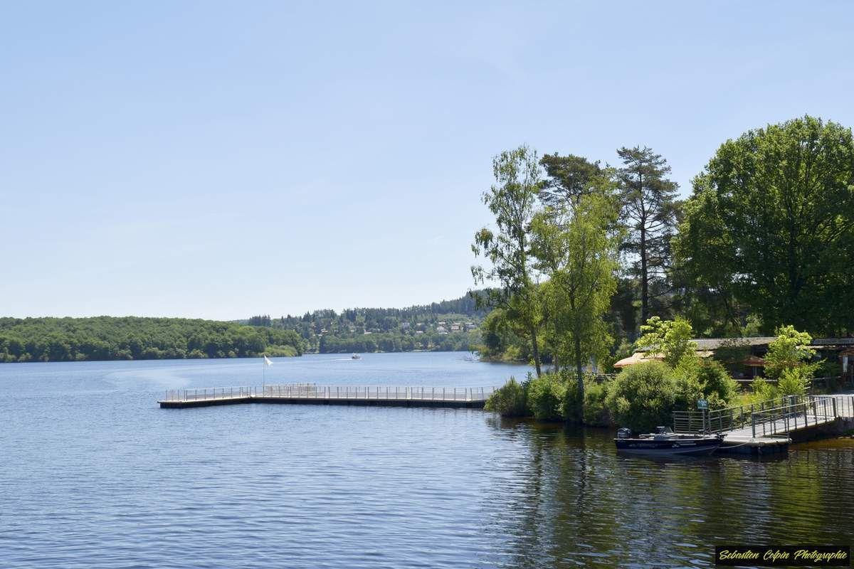 Journée détente et baignade au Lac de Vassivière en Haute-Vienne à la plage de Pierrefitte, le 16.06.2017.