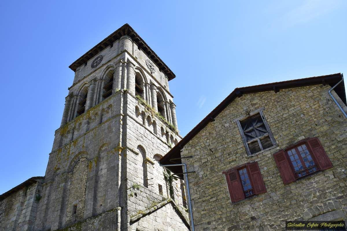 Visite du surprenant patrimoine d'Eymoutiers en Haute-Vienne, le 16 juin 2017 et de sa magnifique collégiale Saint-Etienne, classée Monument Historique