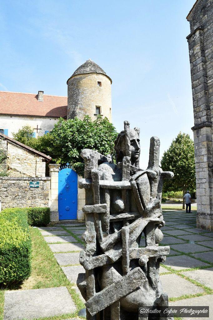 Les Arques dans le Lot et son musée Zadkine