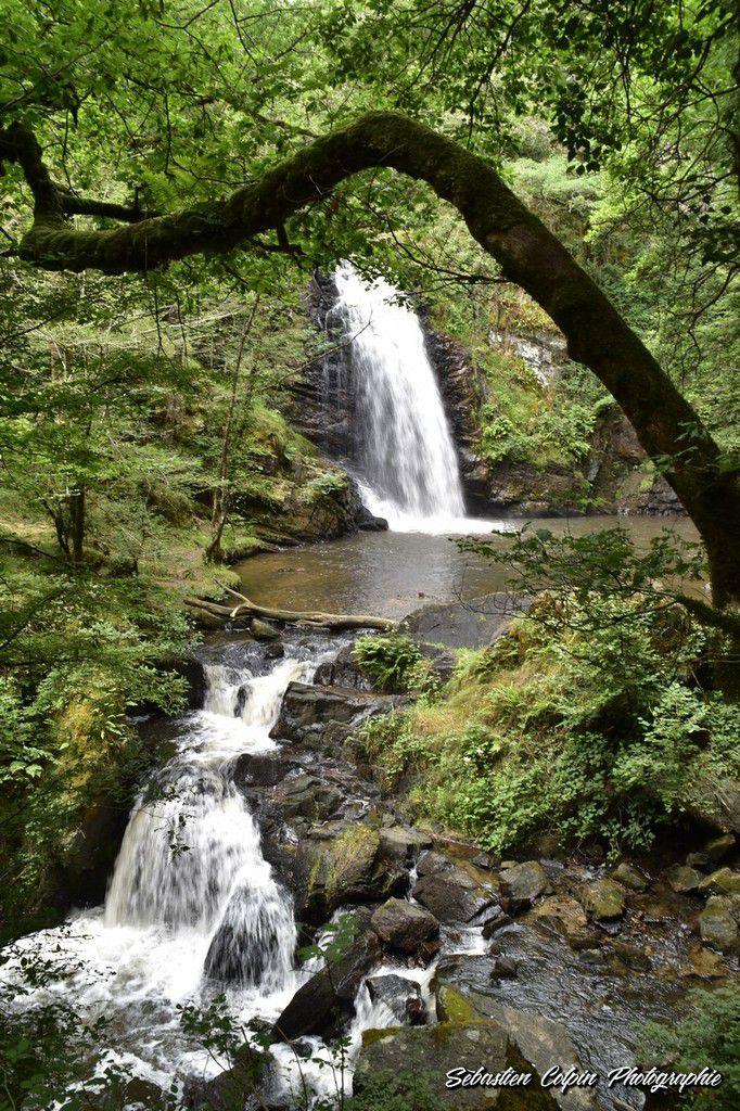 Les cascades de Murel à Albussac en Corrèze, un site naturel merveilleux