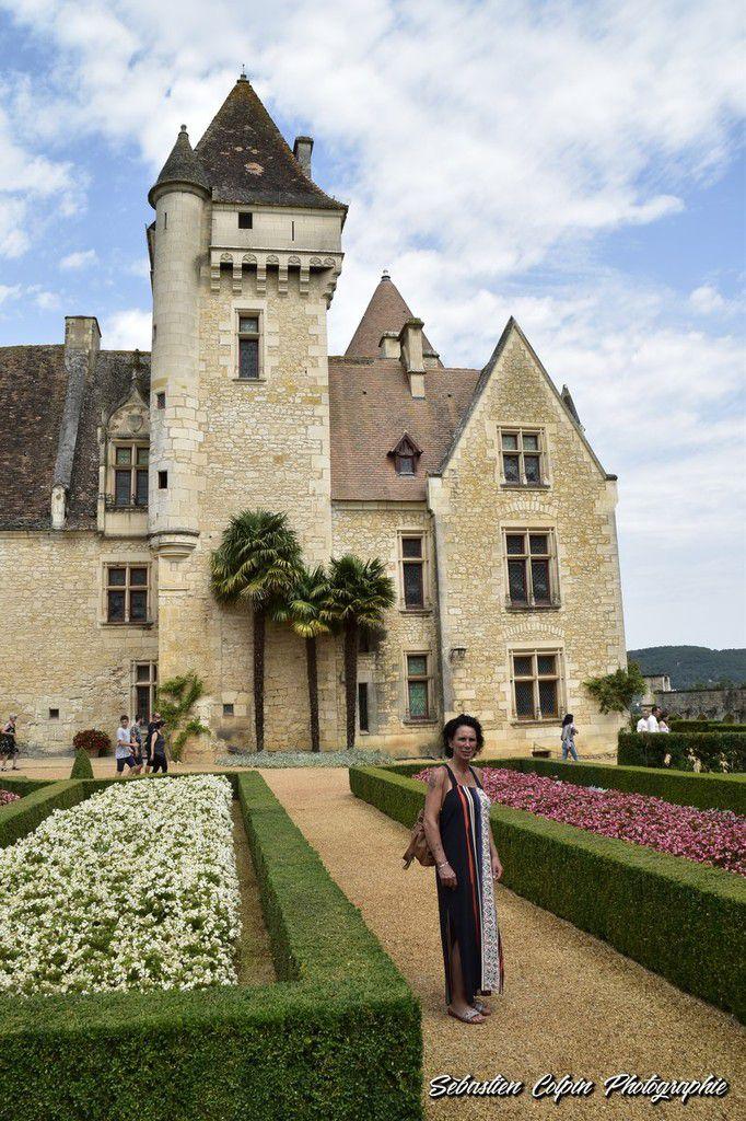 Le Château des Milandes à Castelnaud la Chapelle en Dordogne