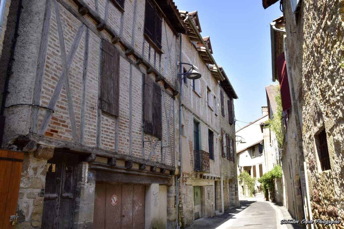 Saint-Céré, ville paisible du Lot