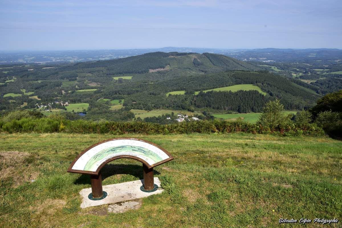 Le Puy de la Monédière à Veix en Corrèze
