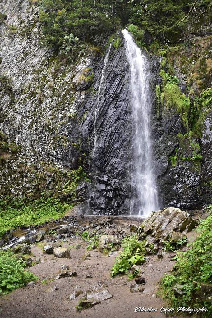 Cascade du Queureuilh à Le Mont-Dore dans le Puy de Dôme en Auvergne