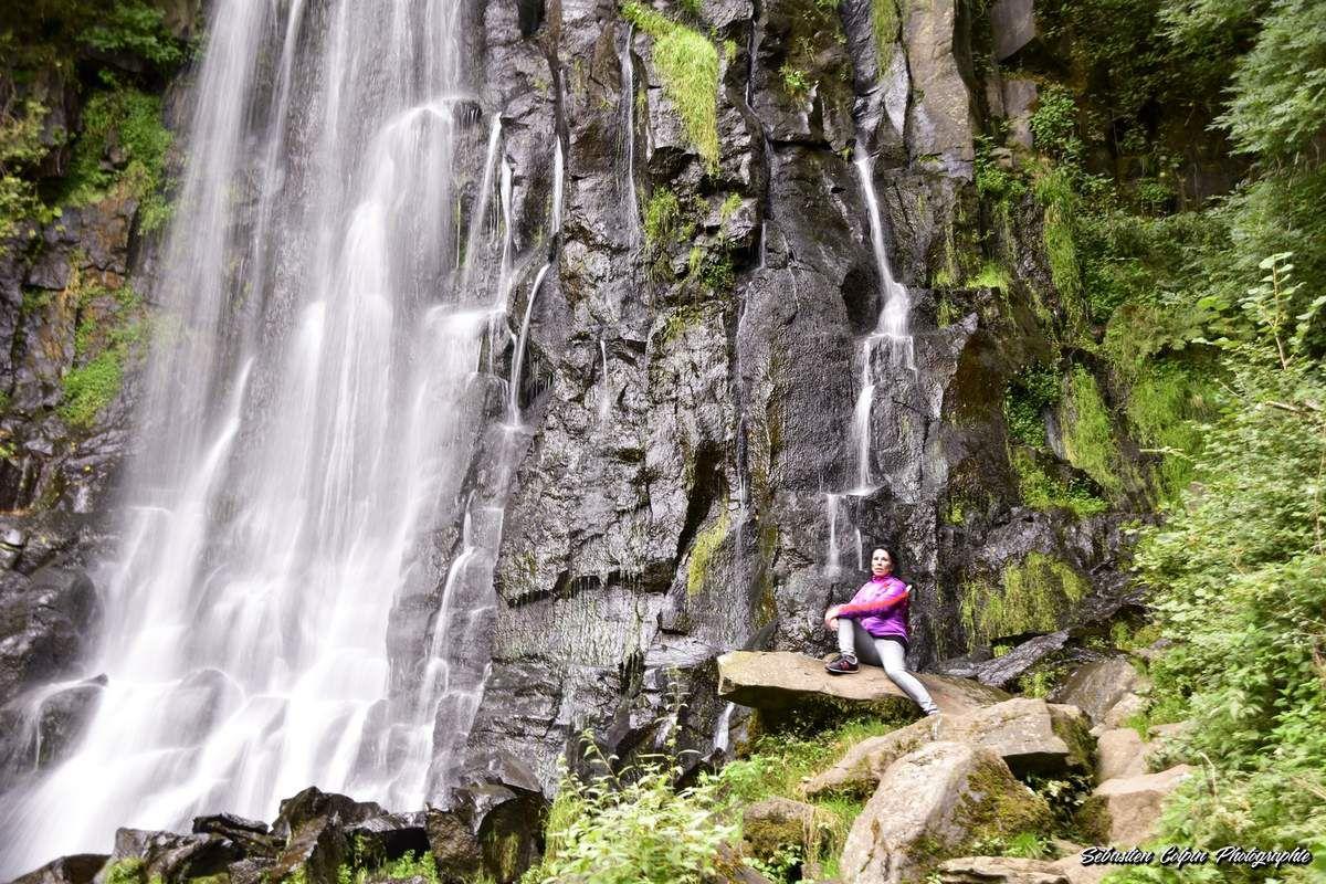 Cascade de Vaucoux à Besse et Sainte-Anastaise, un patrimoine naturel surprenant