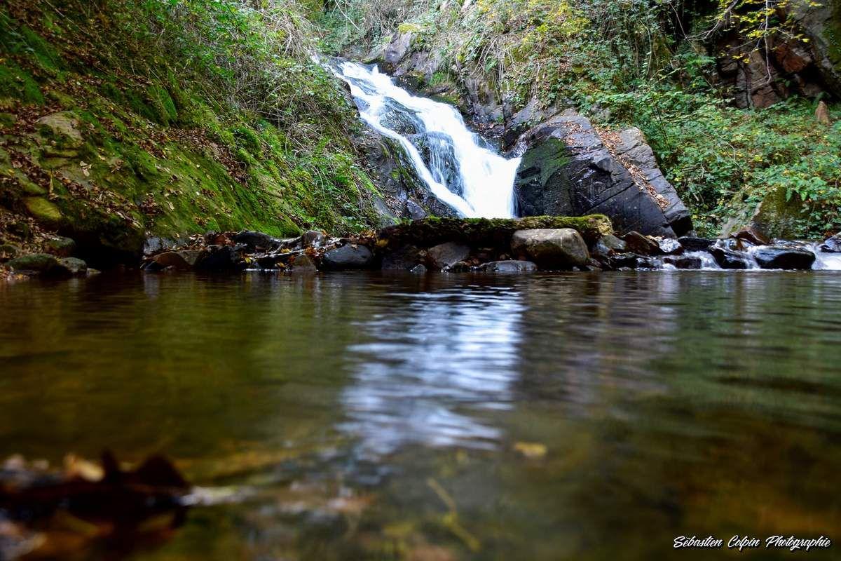 Aubazine, la cascade