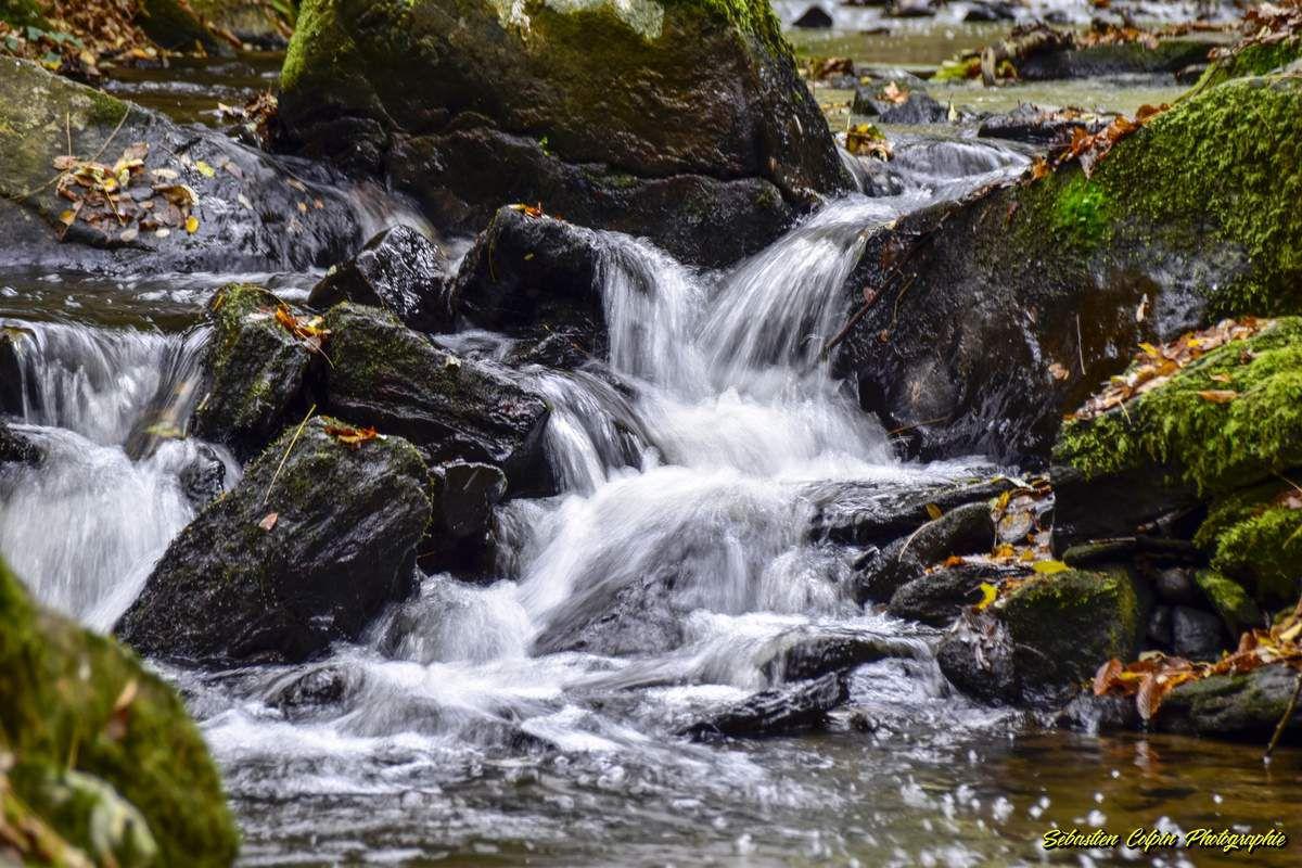 Cascades de Bialet à Saint-Ybard, un joli site naturel en Corrèze