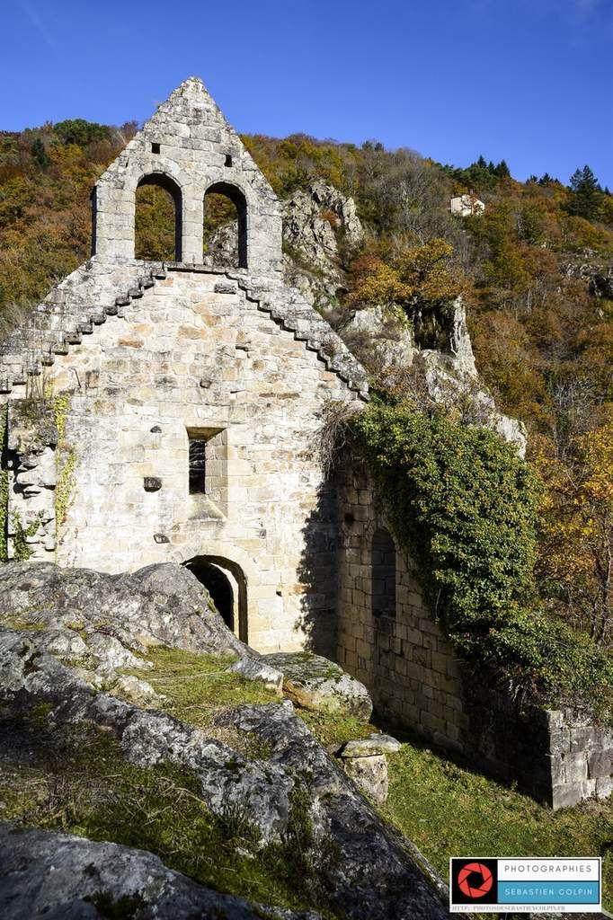 Chapelle Saint-Etienne de Braguse à Gimel les cascades en Corrèze