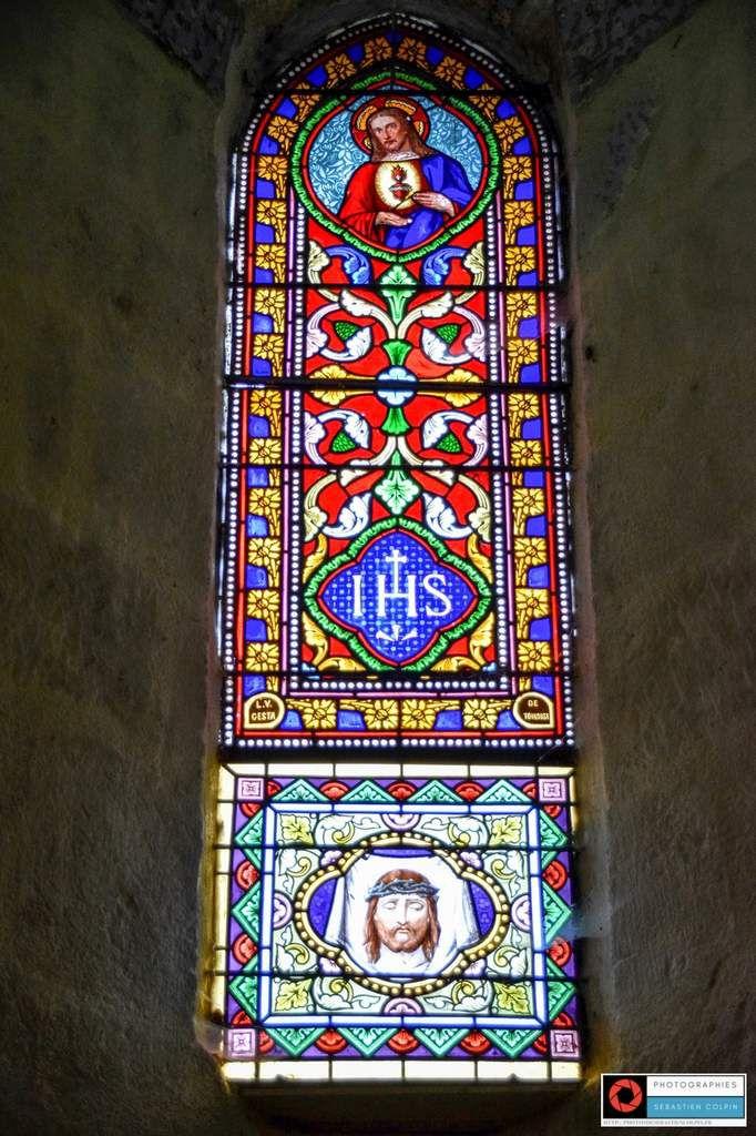 Eglise Saint-Pardoux de Dampniat en Corrèze, oeuvre restaurée suite à la guerre de cent ans