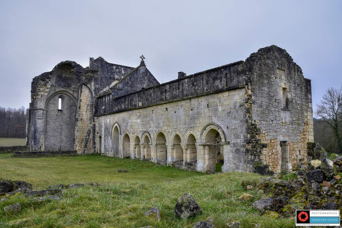 L'Abbaye de Boschaud à Villars en Dordogne [Retour]