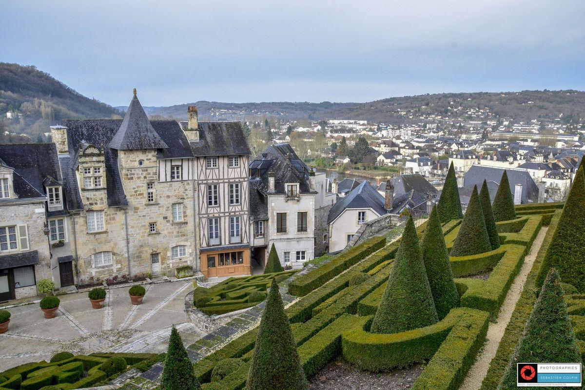 Terrasson Lavilledieu en Dordogne, la cité historique