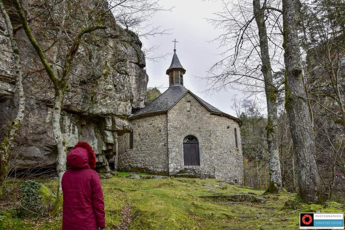 Chapelle Notre-Dame du Roc à Servières le Château en Corrèze