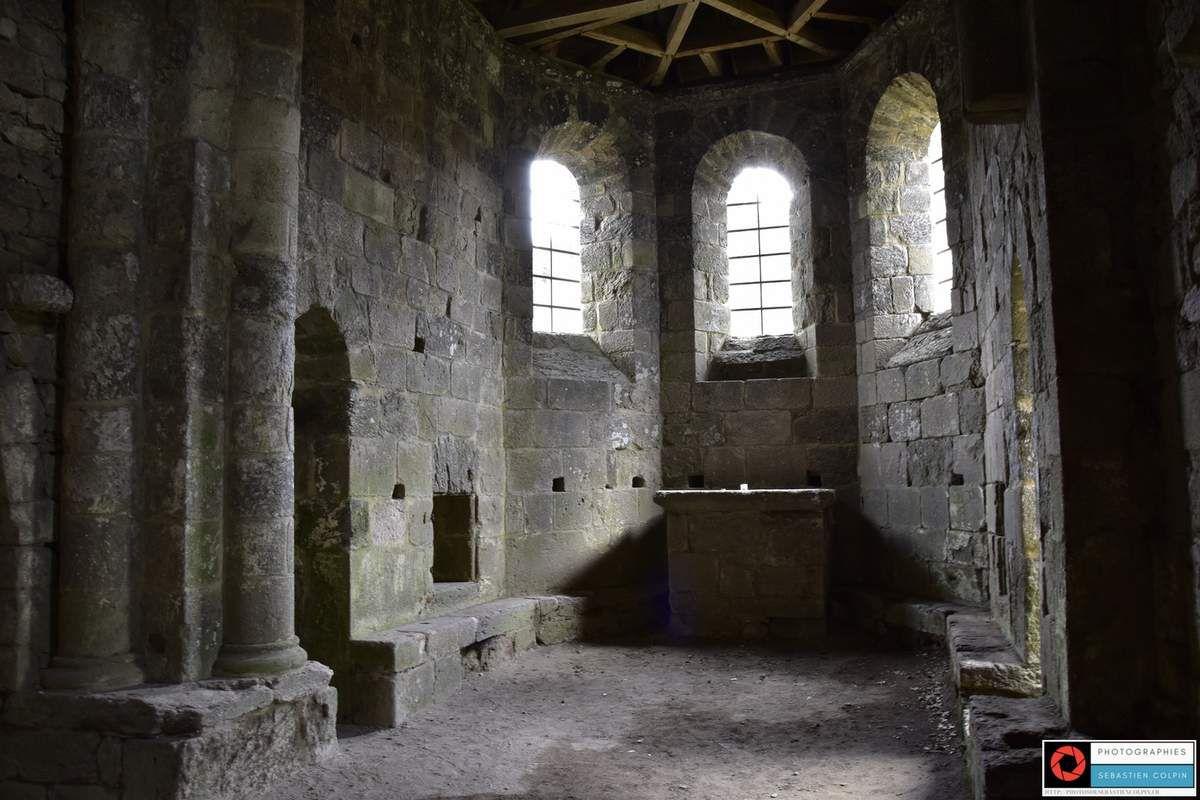Eglise du Gour noir à Saint Pantaléon de Lapleau en Corrèze