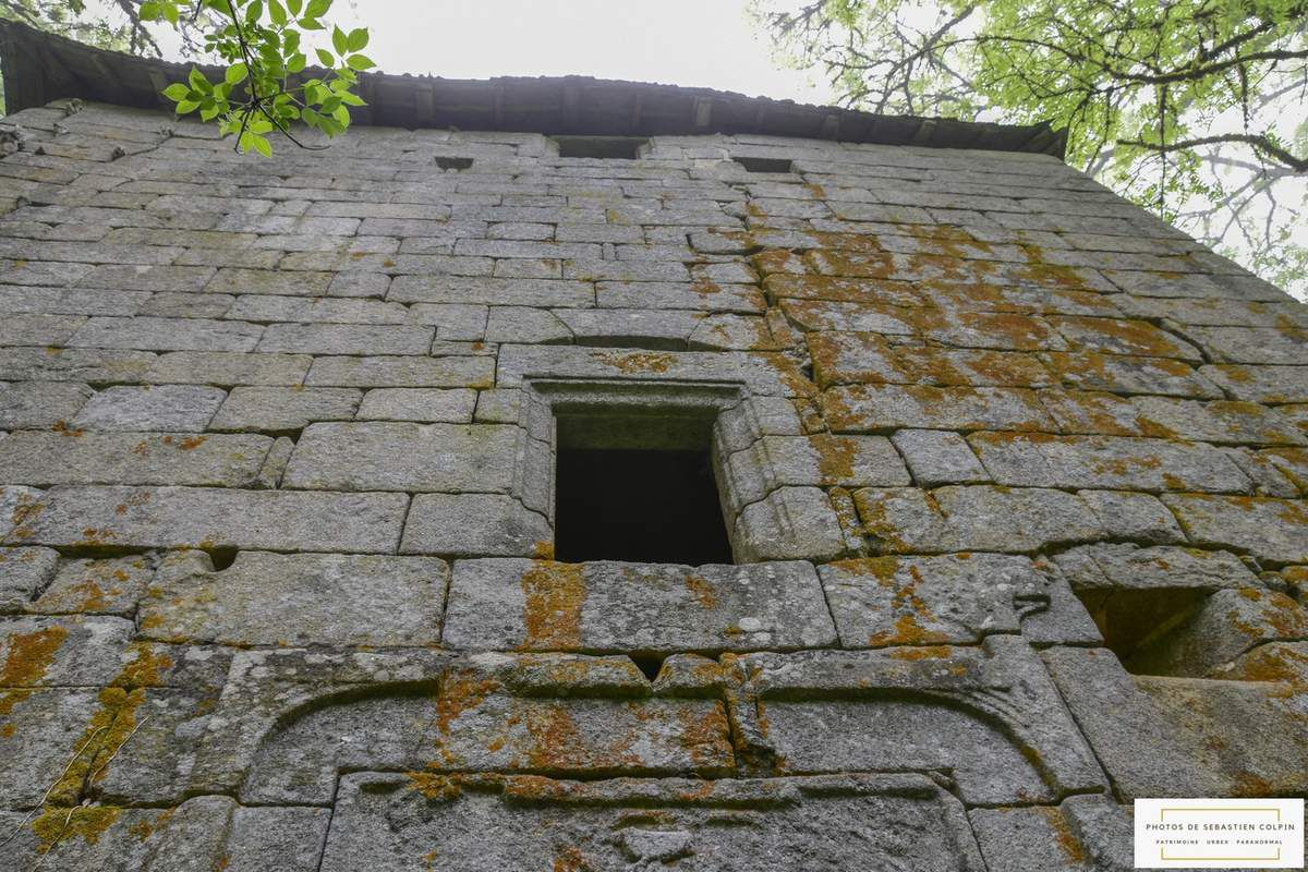 Ruines du Château de Monceaux à Viam en Corrèze