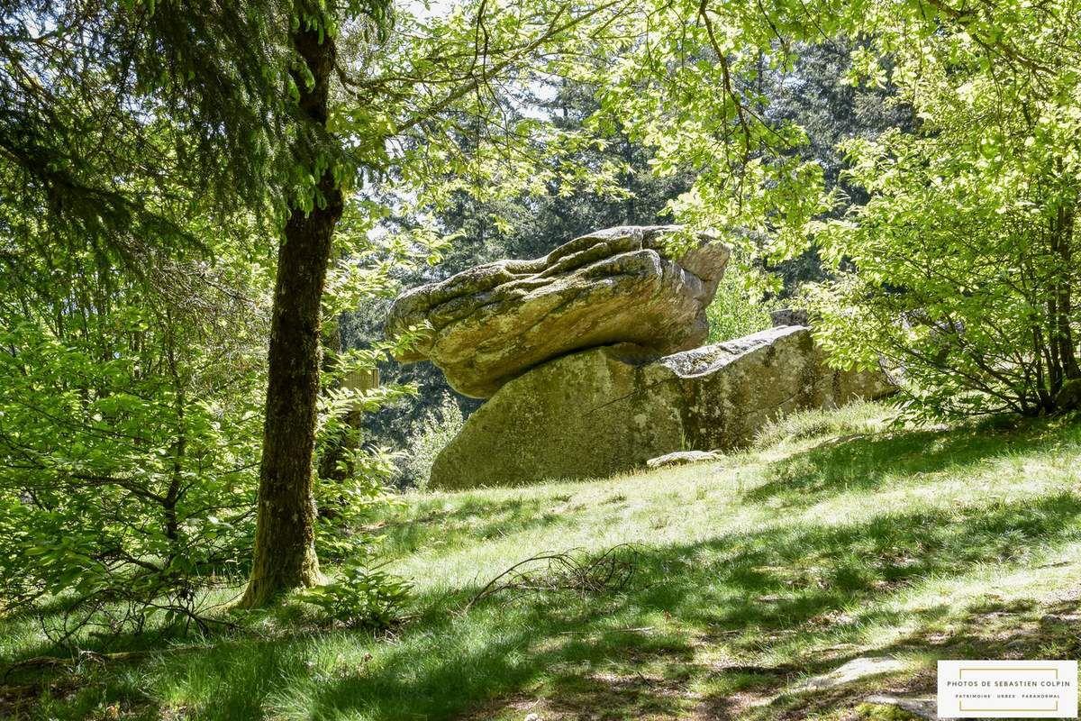La Pierre des Druides à Affieux en Corrèze