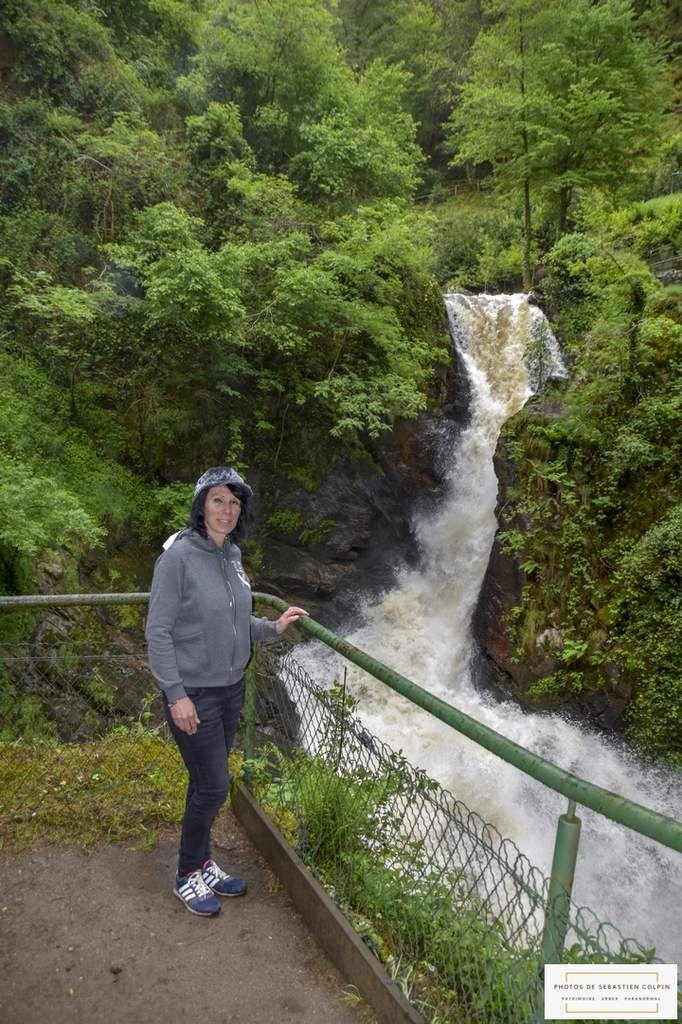 Les cascades de Gimel les cascades en Corrèze