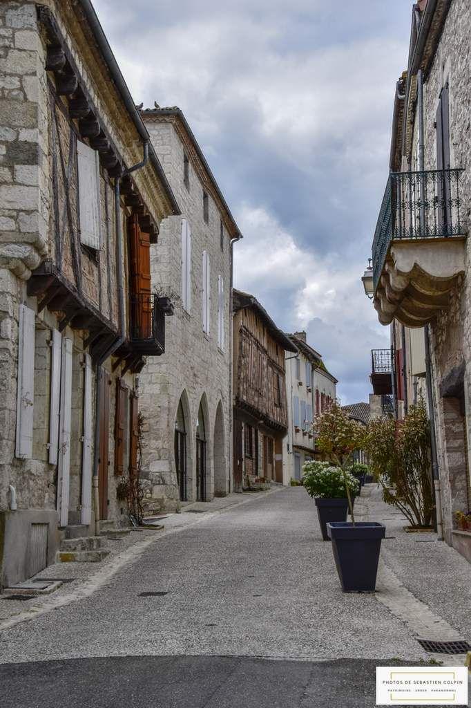 Bastide de Monflanquin en Lot et Garonne