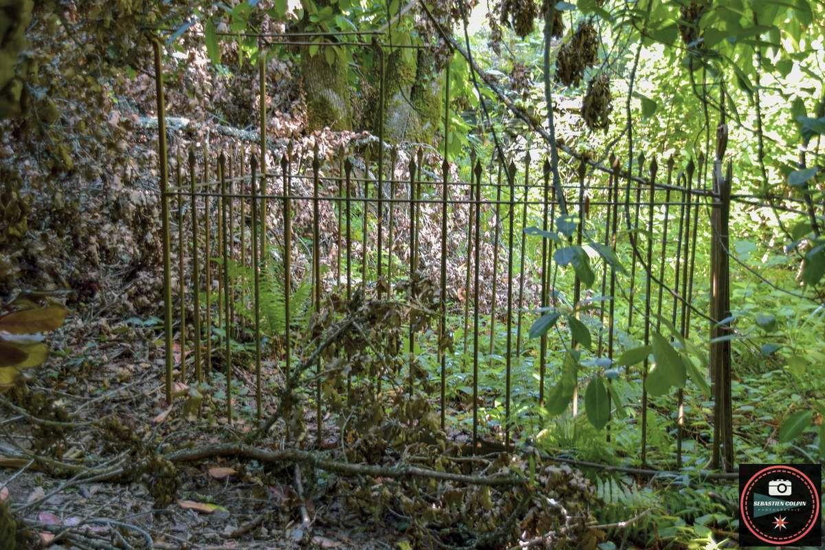 Le Vieux cimetière du Saillant en Corrèze, une profanation sous silence...