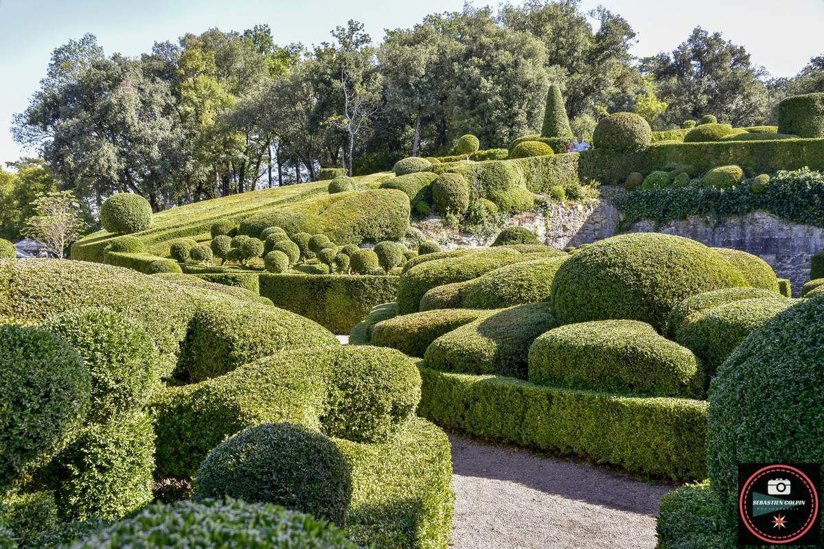 Les magnifiques Jardins de Marqueyssac à Vézac en Dordogne