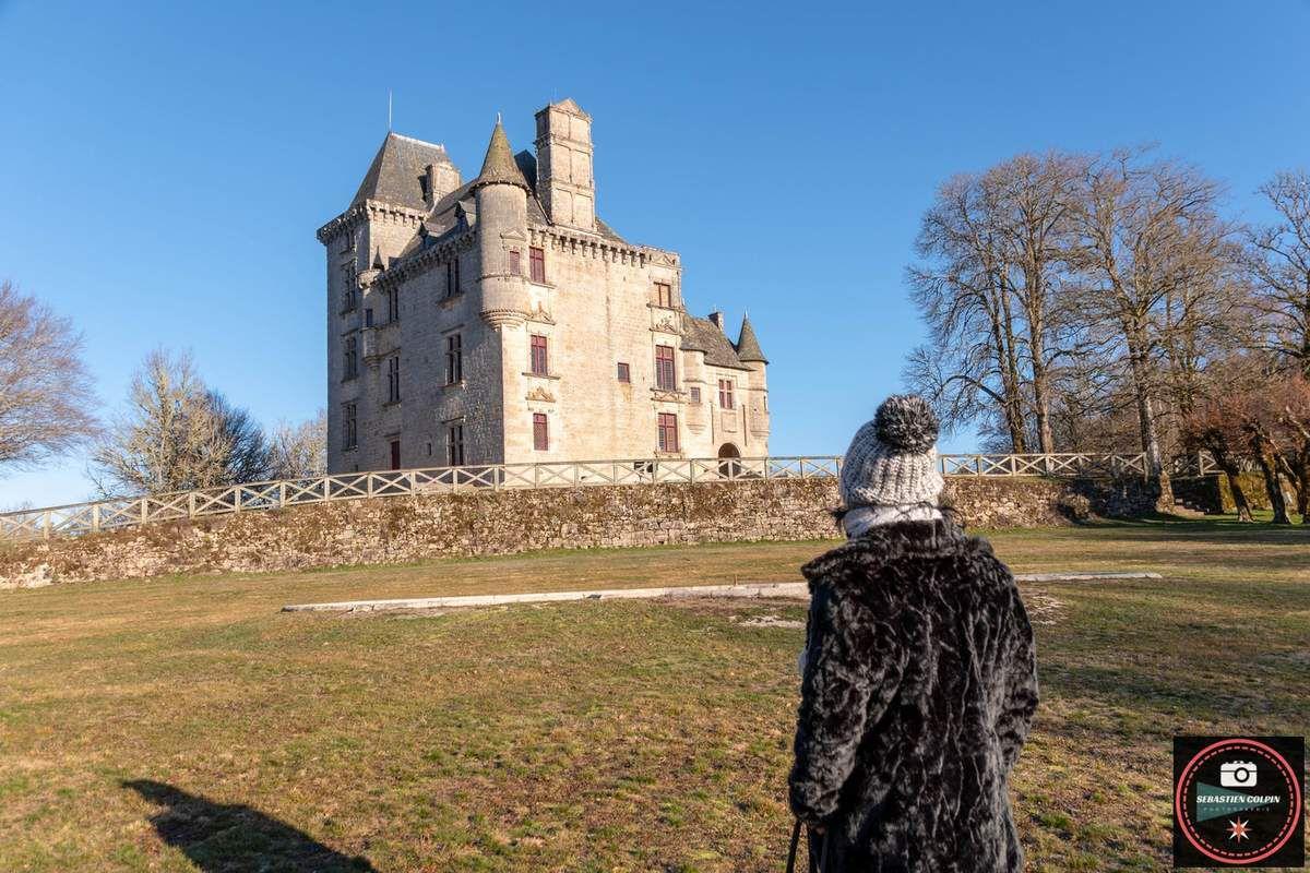 Le domaine de Sédières et son Château à Clergoux en Corrèze