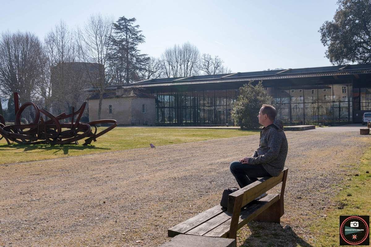 jardin des arènes et musée Vesunna à Périgueux