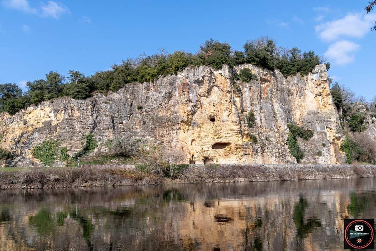 La dordogne, une rivière plus qu'un trésor à Vitrac
