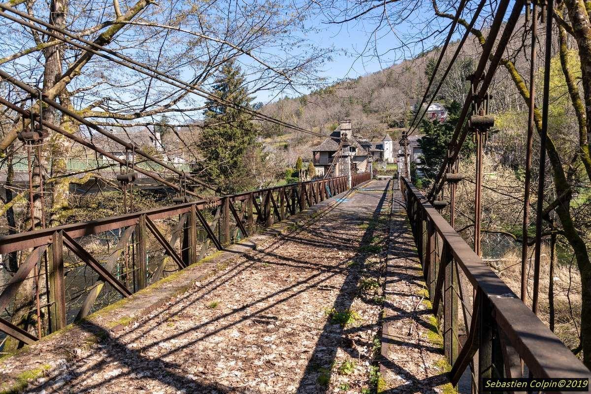 Ancien Pont de Basteyroux à Argentat sur Dordogne en Corrèze