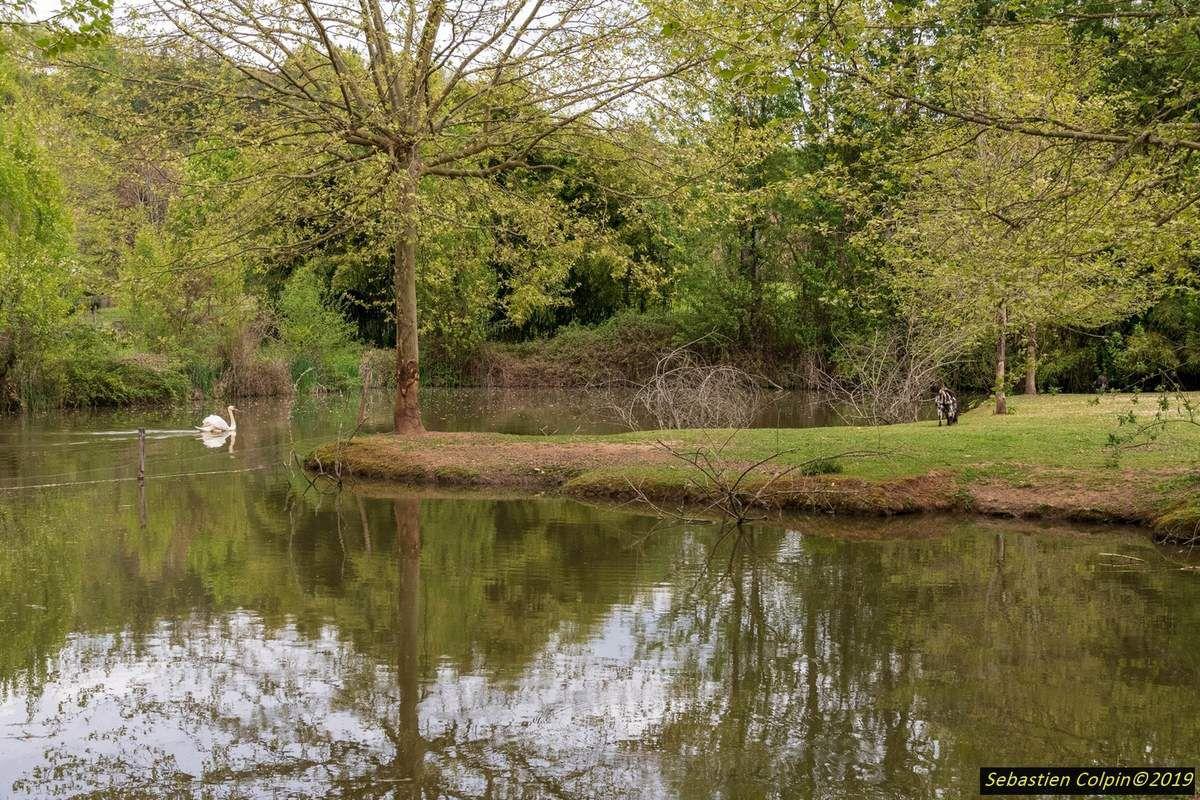 Parc le Bournat en Dordogne, village reconstitué en 1900