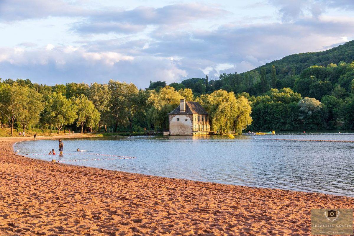 Un soir au Lac du Causse en Corrèze