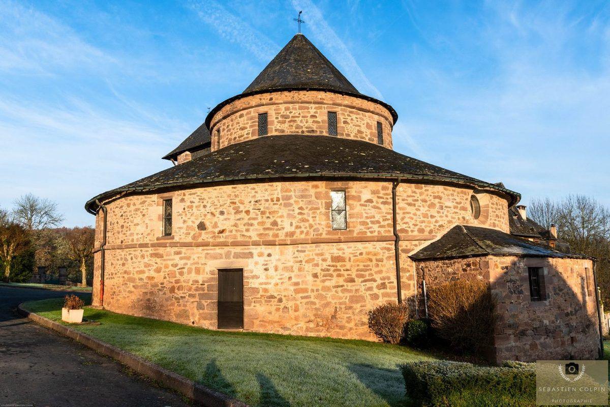 L'Eglise rotonde de Saint-Bonnet la rivière
