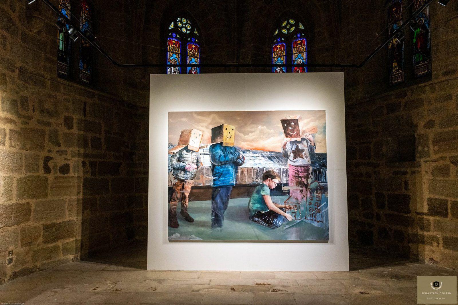 """L'Exposition """"du Fantasme au Totem"""" de Nicolas Marciano à la Chapelle Saint-Libéral"""