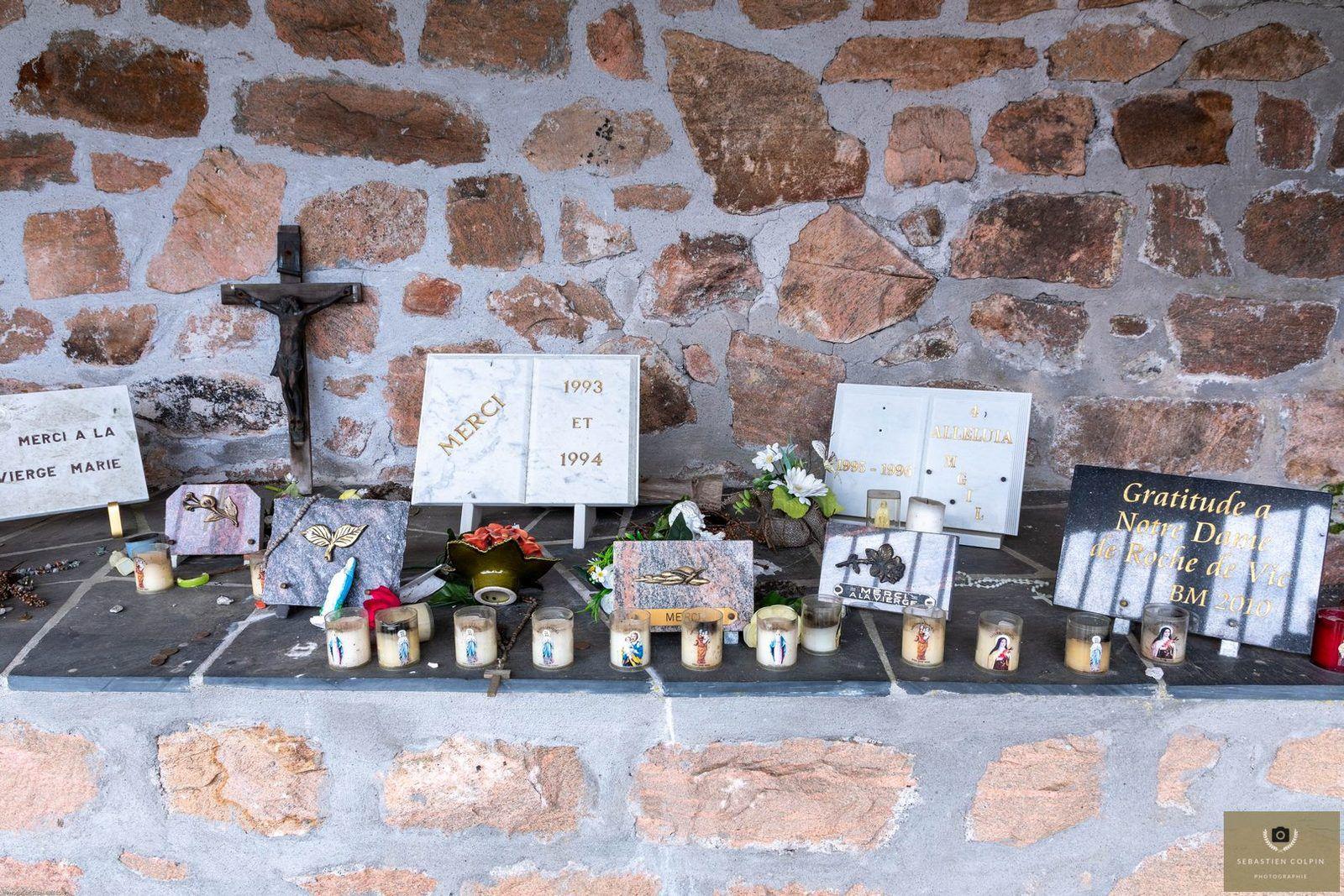 La Vierge du Puy de Roche de Vic à Albussac en Corrèze