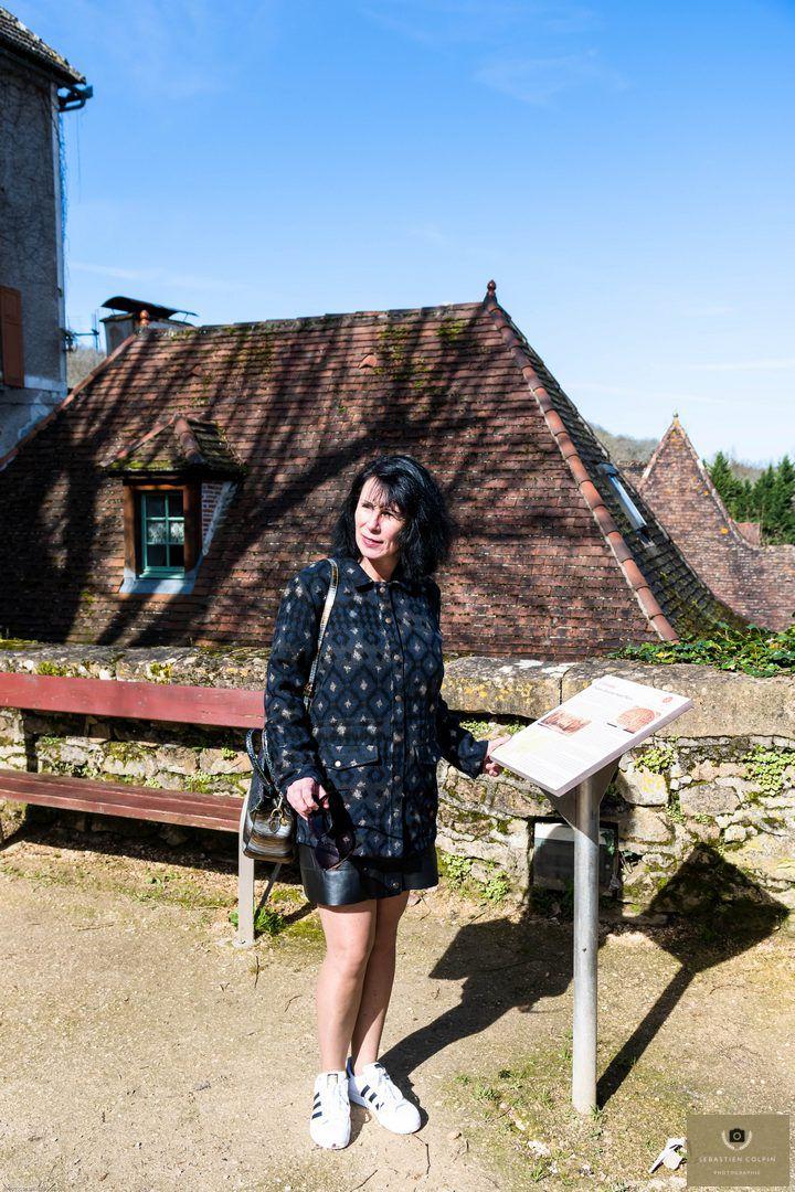 Carennac, dans le Lot, est l'un des plus beaux villages de France situé à 50 km au nord-est de Gourdon