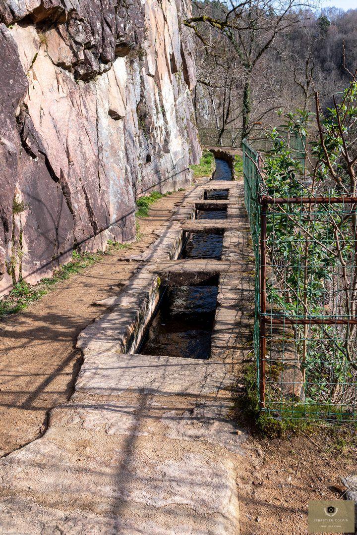 Le Canal des Moines à Aubazine, un ouvrage d'art exceptionnel du XIIème siècle
