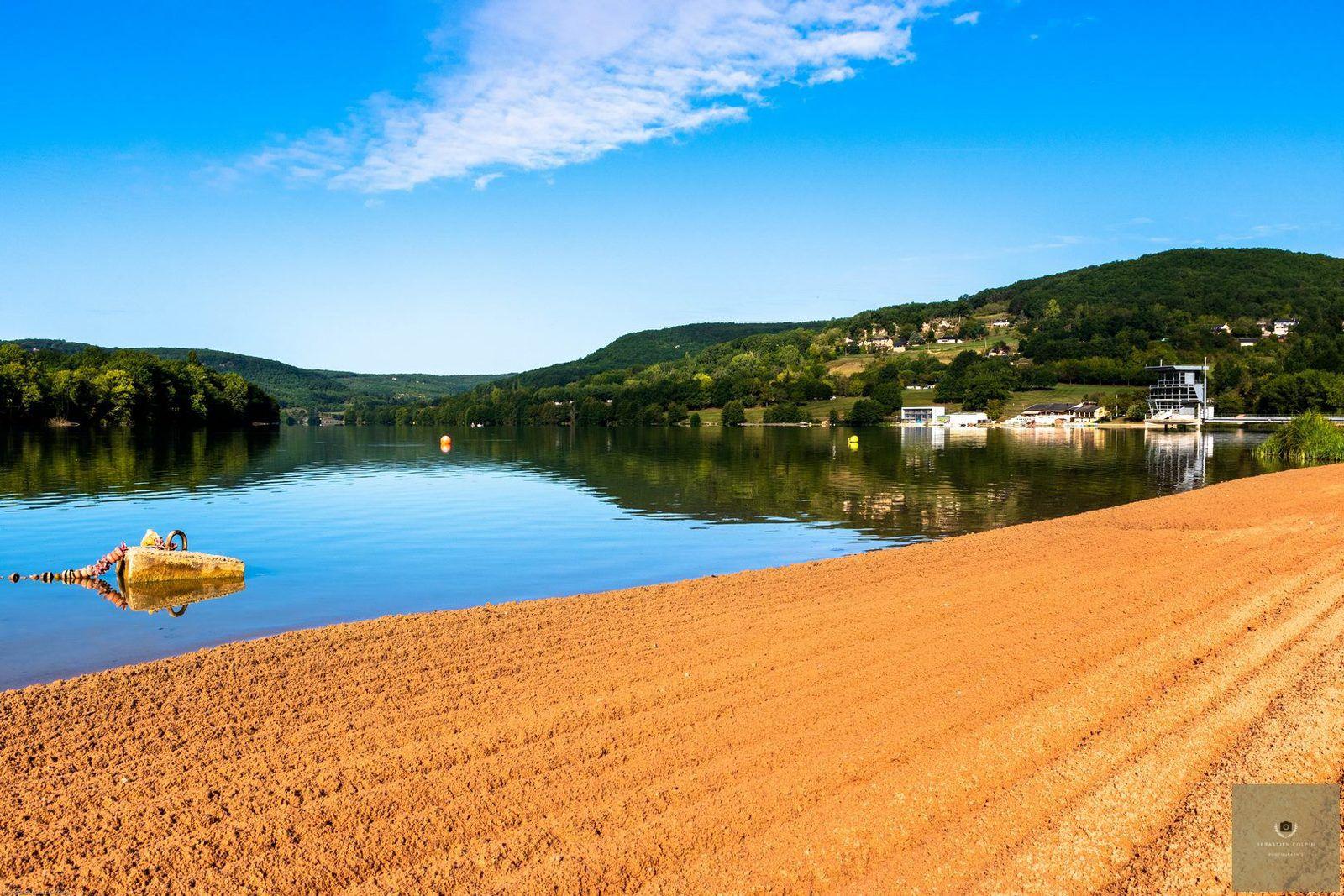 Lac du Causse Corrézien à Brive la Gaillarde. ©photos de Sébastien Colpin